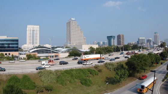 Orlando Traffic on I-4
